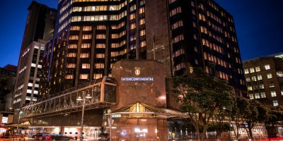 InterContinental Wellington named Australasia's Leading Conference Hotel 2018 at World Travel Awards.